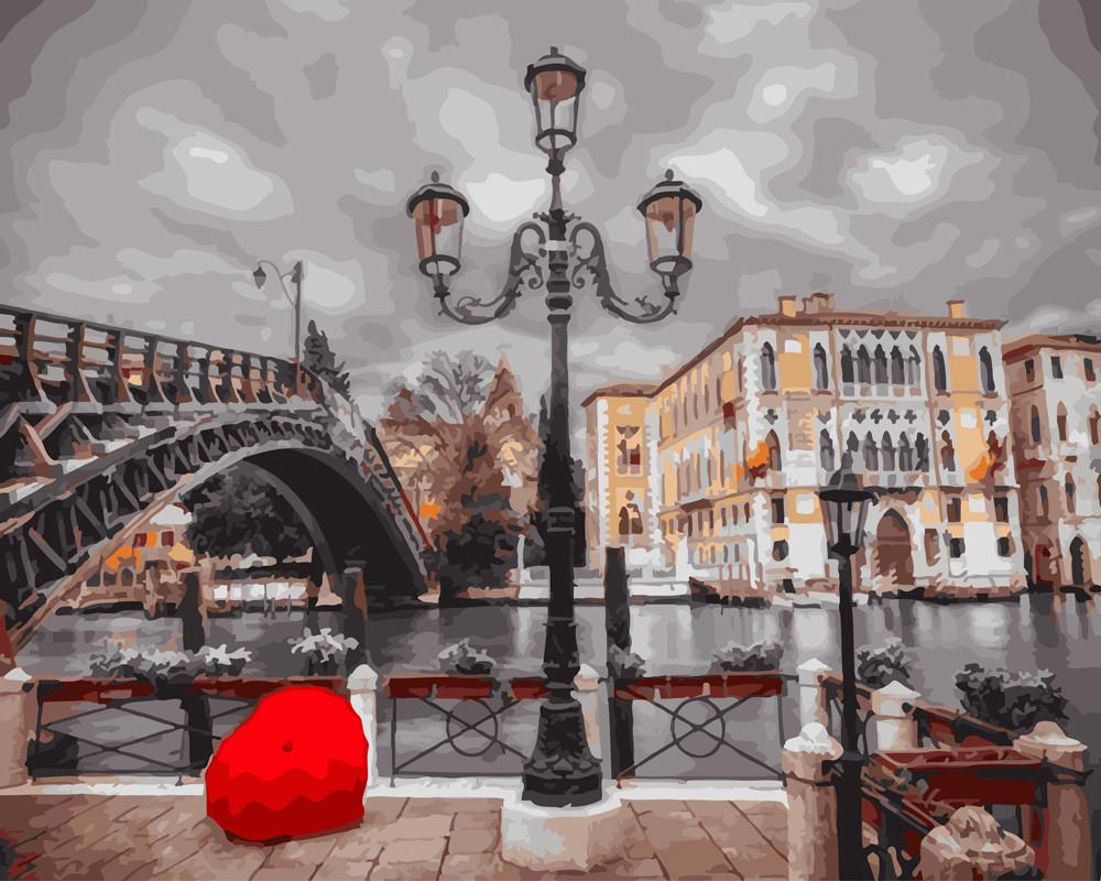Картина по номерам Магия Парижа 40 х 50 см (BK-GX23340)