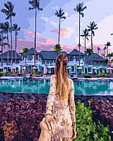 Картина по номерам Следуй за мной Гавайи 40 х 50 см (BK-GX23563)