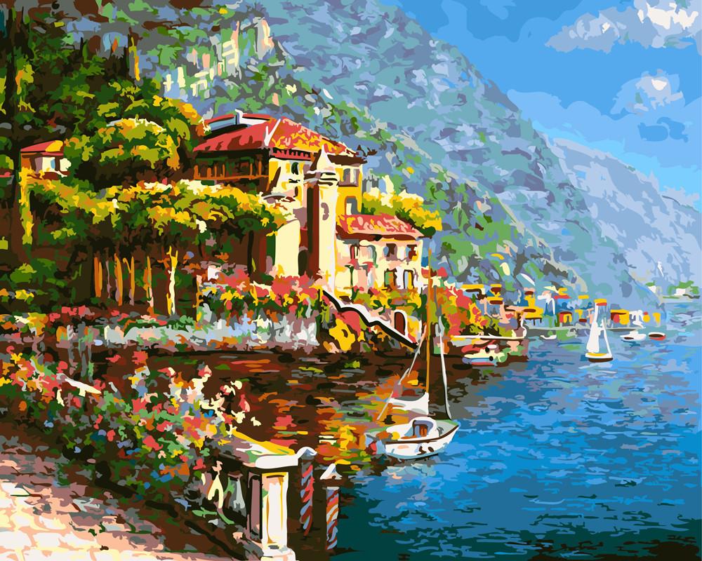 Картина за номерами Мальовнича Хорватія 40 х 50 см (BK-GX24415)