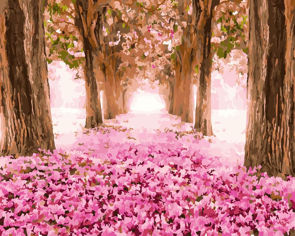 Картина по номерам Розовый лес 40 х 50 см (BK-GX25271)