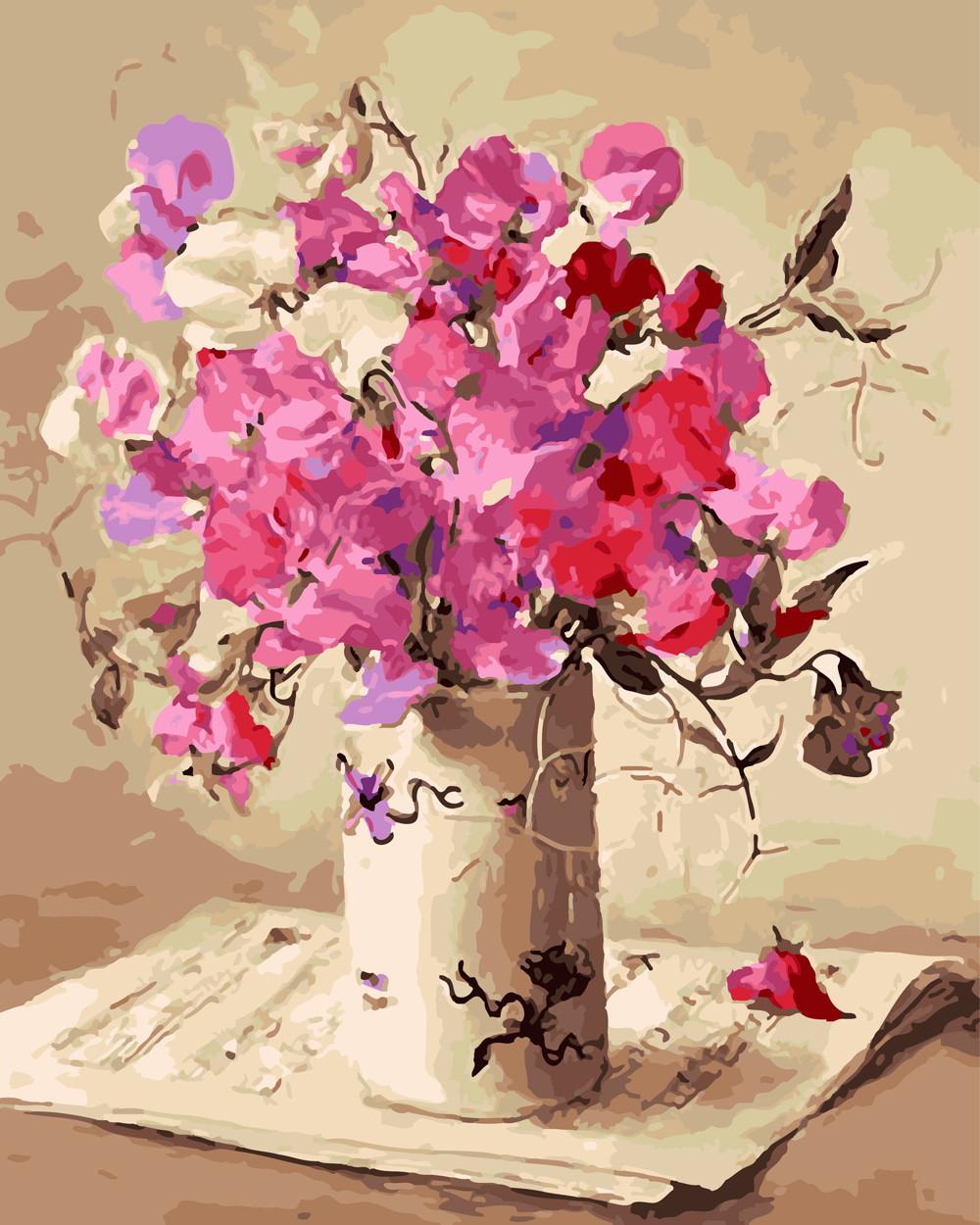 Картина по номерам Музыка цветов 40 х 50 см (BK-GX26111)
