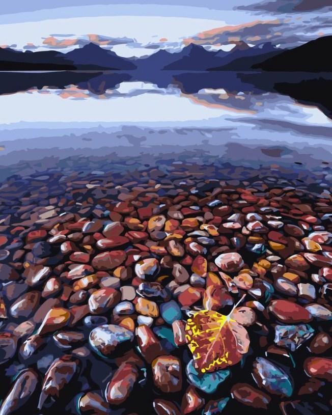 Картина за номерами Морські камінці 40 х 50 см (BK-GX3843)