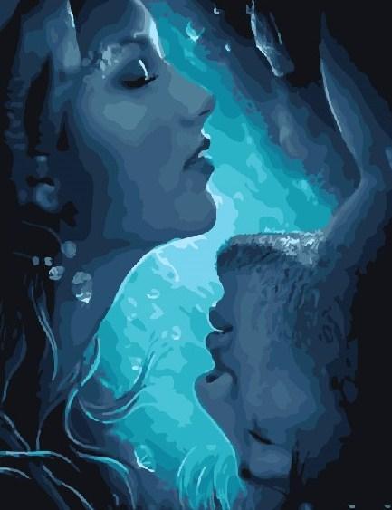 Картина по номерам Форма воды 40 х 50 см (BRM22207)