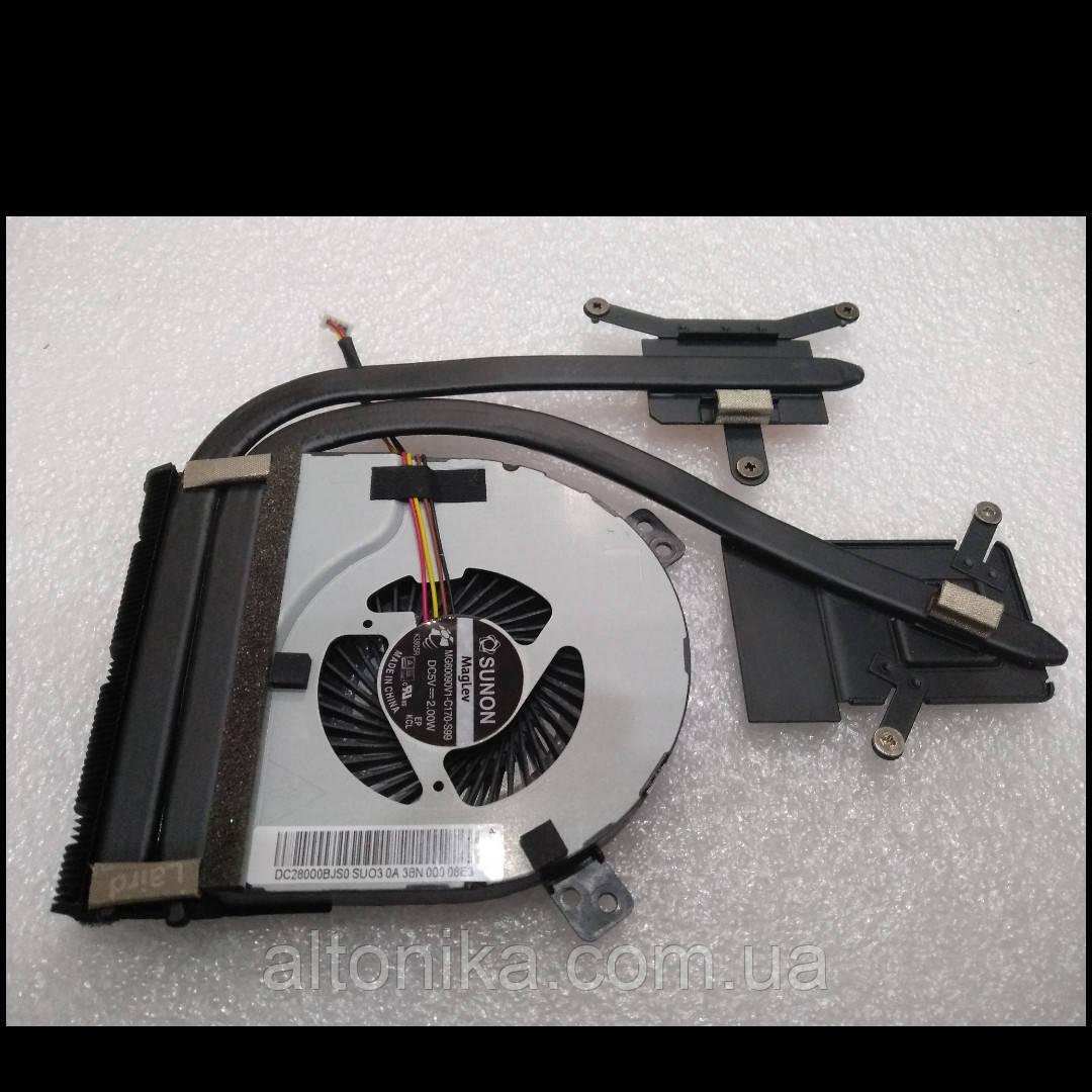 Система охлаждения + вентилятор для ноутбука Lenovo Z410, Z510 (AT0T10010S0, DC28000BJS0) Original