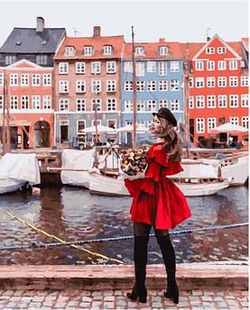 Картина по номерам На пристани Амстердама 40 х 50 см (PGX25436)