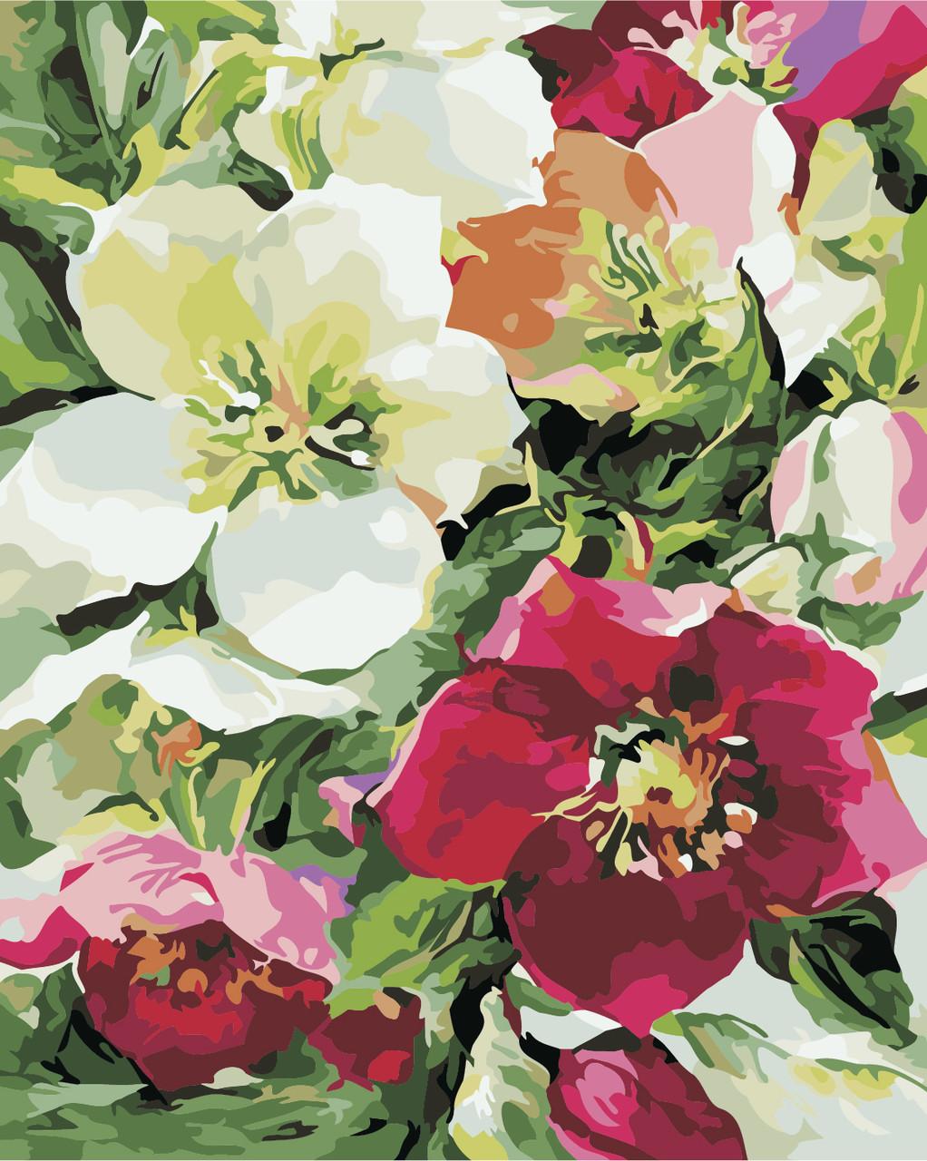 Картина по номерам Цветочное настроение 40 х 50 см (AS0340)