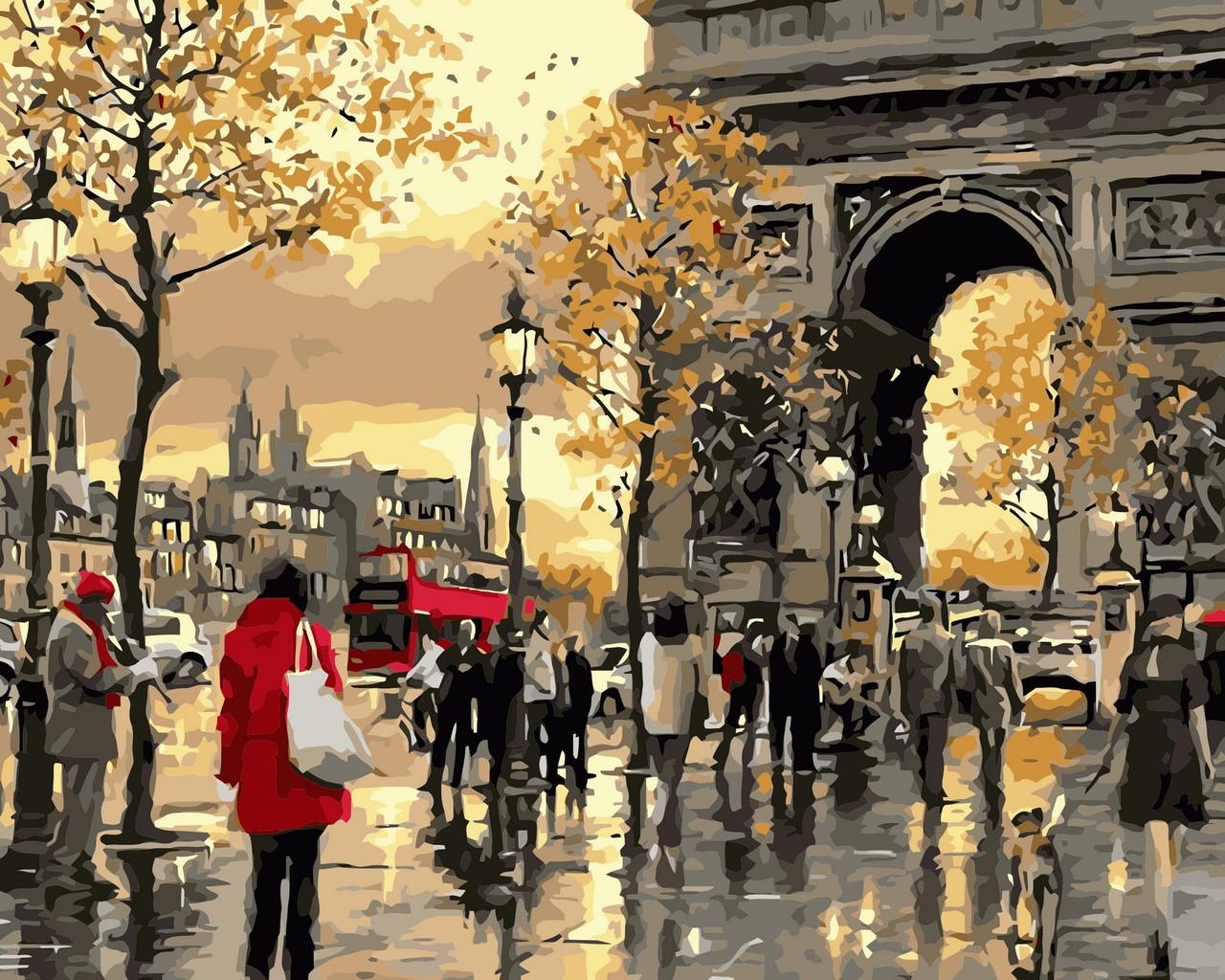 Картина за номерами Осіння Франція 40 х 50 см (AS0362)
