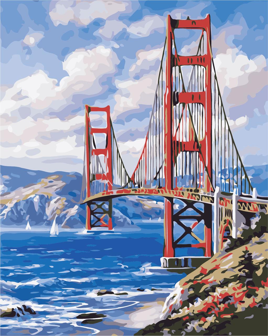 Картина по номерам Сан-Франциско 40 х 50 см (AS0366)