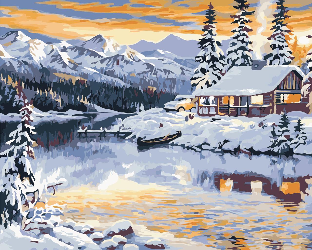 Картина по номерам Волшебная зима 40 х 50 см (AS0378)