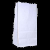Бумажный пакет на вынос 150х90х240 Белый