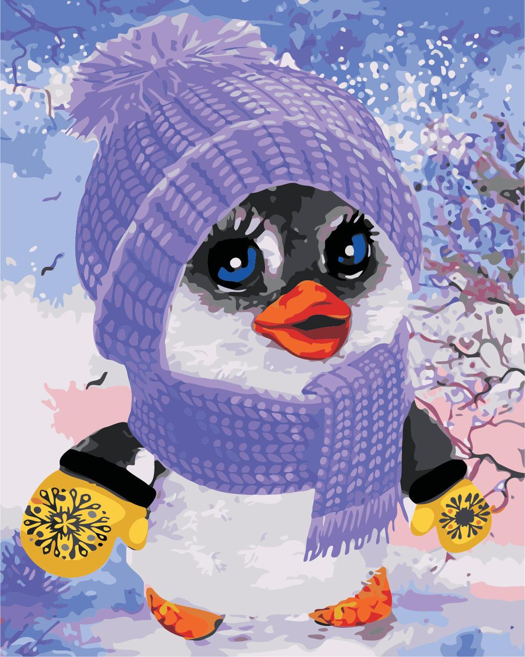 Картина по номерам Пингвинчик 40 х 50 см (AS0406)