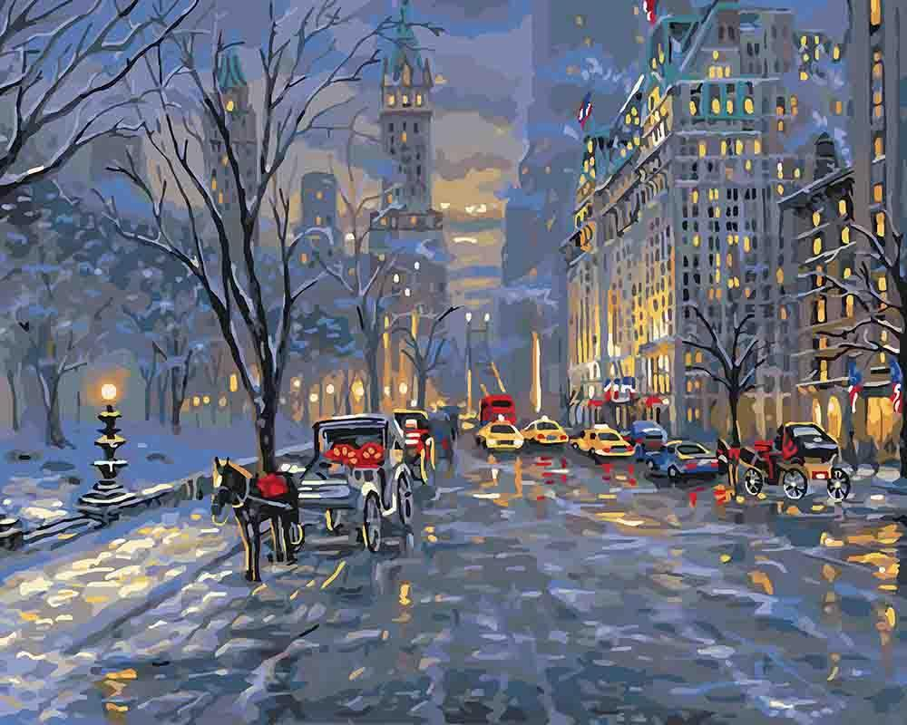 Картина по номерам Краски ночного города 40 х 50 см (KH3537)