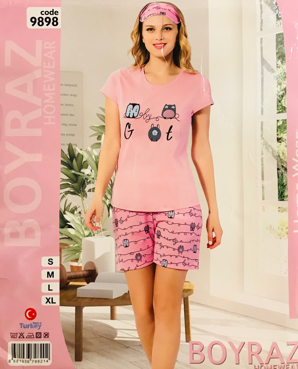 Женская пижама хлопок BOYRAZ Турция размер XL(50) 9898