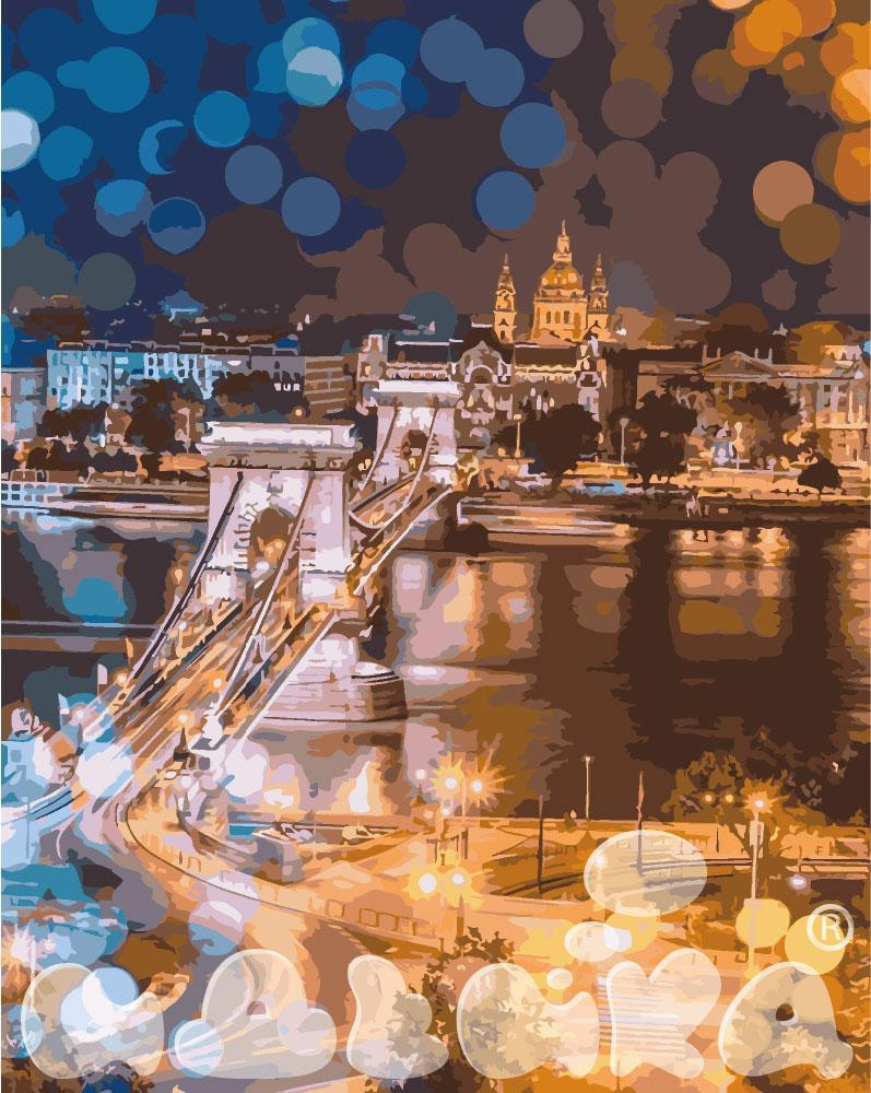 Картина по номерам Очарование ночного города 40 х 50 см (KH3541)