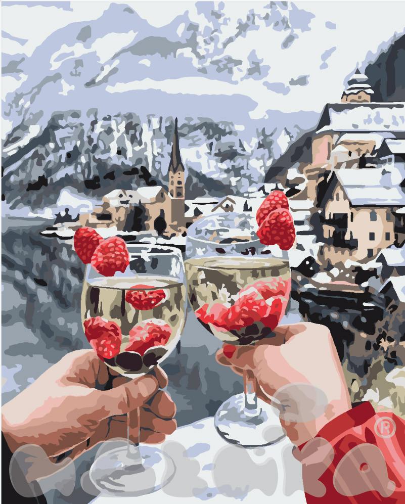 Картина по номерам Ледяной десерт 40 х 50 см (KH4538)