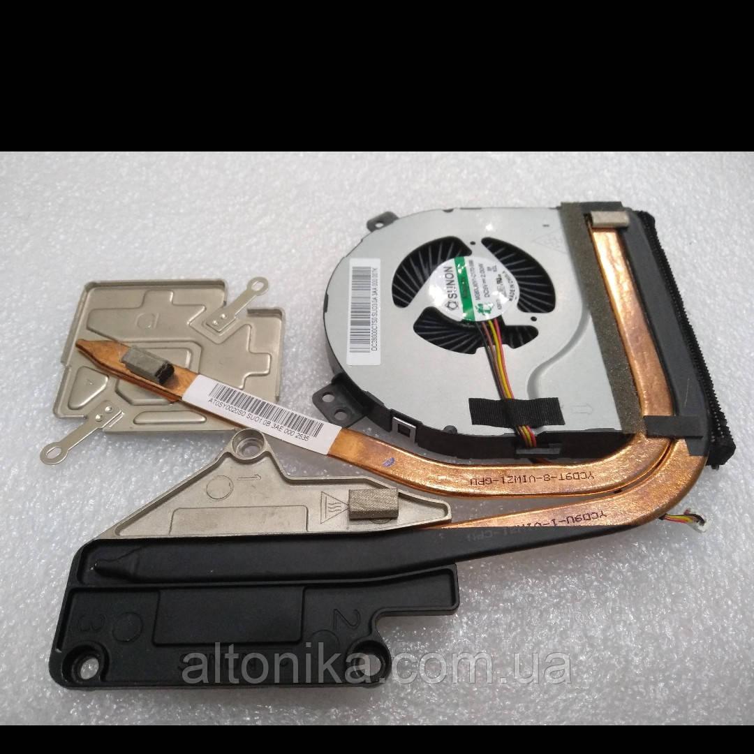 Система охлаждения + вентилятор для ноутбука Lenovo Z400 Z400A Z400T Z500 P500 (AT0SY0020S0, DC28000C7S0) Orig