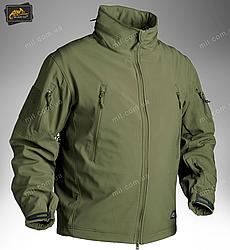 Демисезонная тактическая куртка Helikon-Tex® GUNFIGHTER Windblocker® Soft Shell (оливковая)