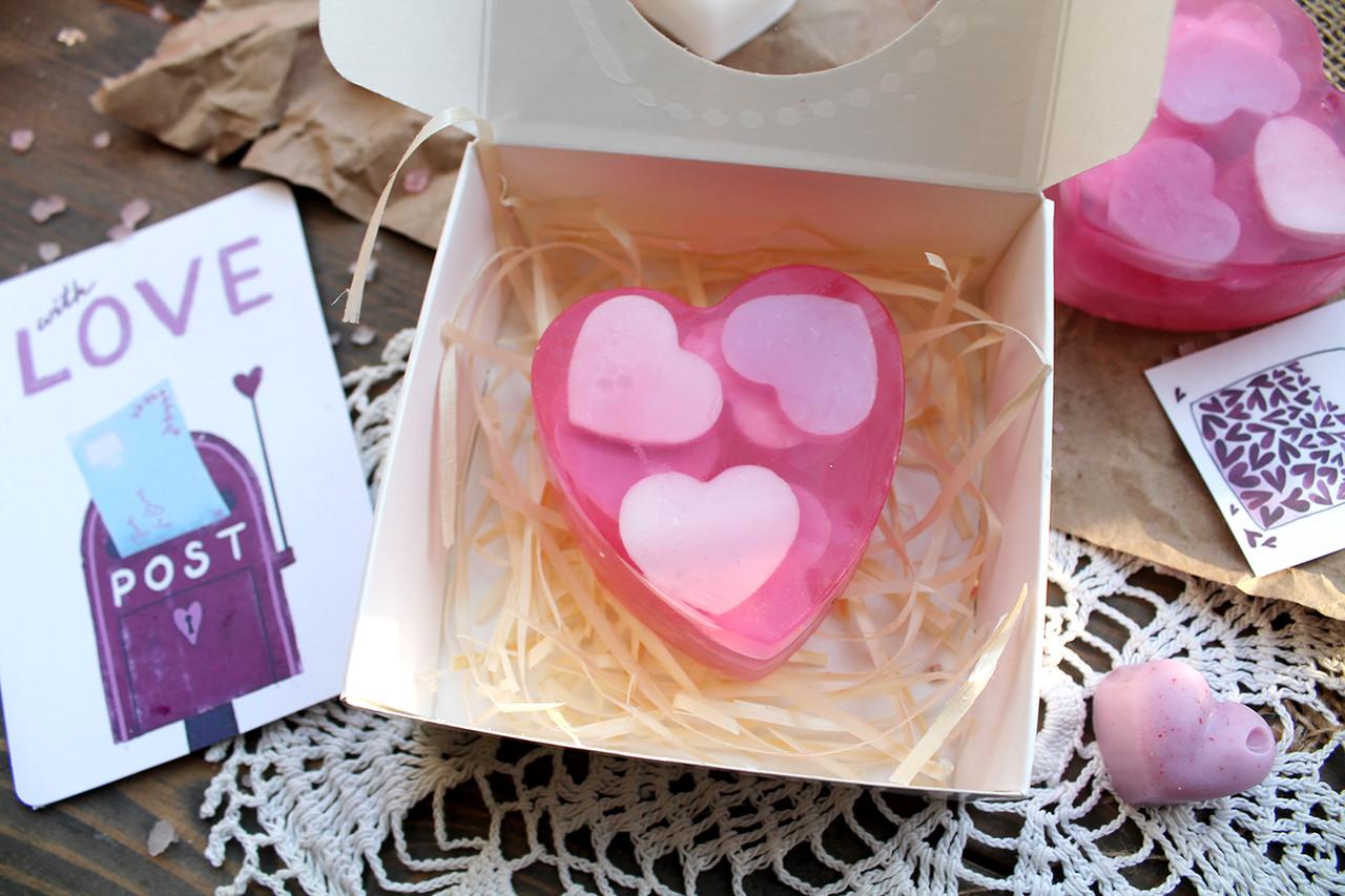 Подарочный набор мыла в коробке