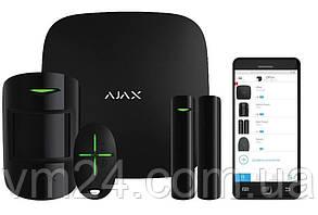 Комплект сигнализации Ajax StarterKit  белая  .черная