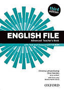 English File Third Edition Advanced Teacher's Book with Test and Assessment CD-ROM ISBN: 9780194502061