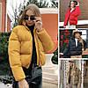 Женская короткая весеняя куртка без капюшона, чёрный, красный, какао, белый, горчица, белый 42,44,46 - На Веревках в Одессе