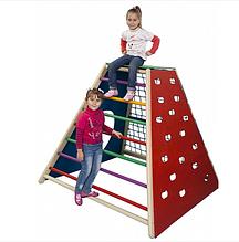 Детский спортивный комплекс для улицы и дома Пирамида