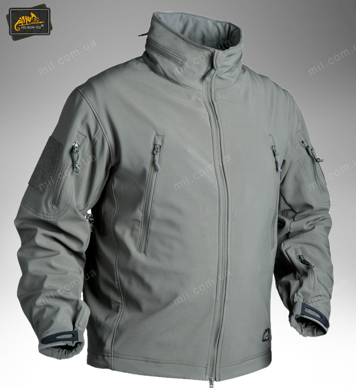 Демисезонная тактическая куртка Helikon-Tex® GUNFIGHTER Windblocker® Soft Shell (foliage green)
