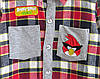 Рубашка Angry Birds для мальчика., фото 3
