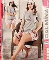 Женская пижама хлопок DALMINA Турция размер M(46) 33504
