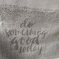 Эко-сумка из спанбонда на молнии (размер: 50*42*15 см) Нью-Йорк