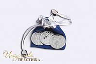 """Серия из трех монет Данетка """"Облом"""" никелированная"""