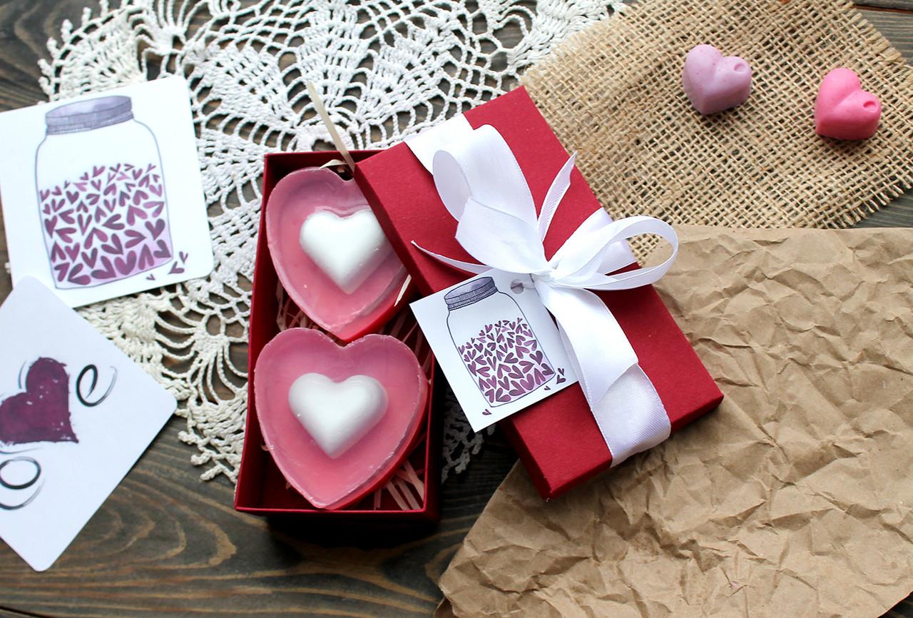 Подарунковий набір мила Серця