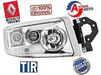 Фара Renault Premium DCI Евро 5 хромированная H1/H7 оптика для грузовиков поворотник 5010578475