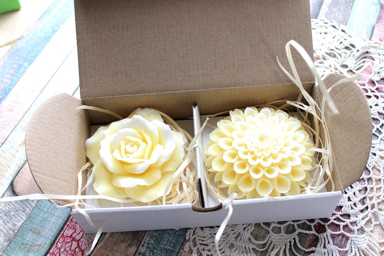 Подарочный набор мыла цветочный
