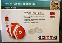 Небулайзер (ингалятор) компрессорный Gamma Effect Nemo