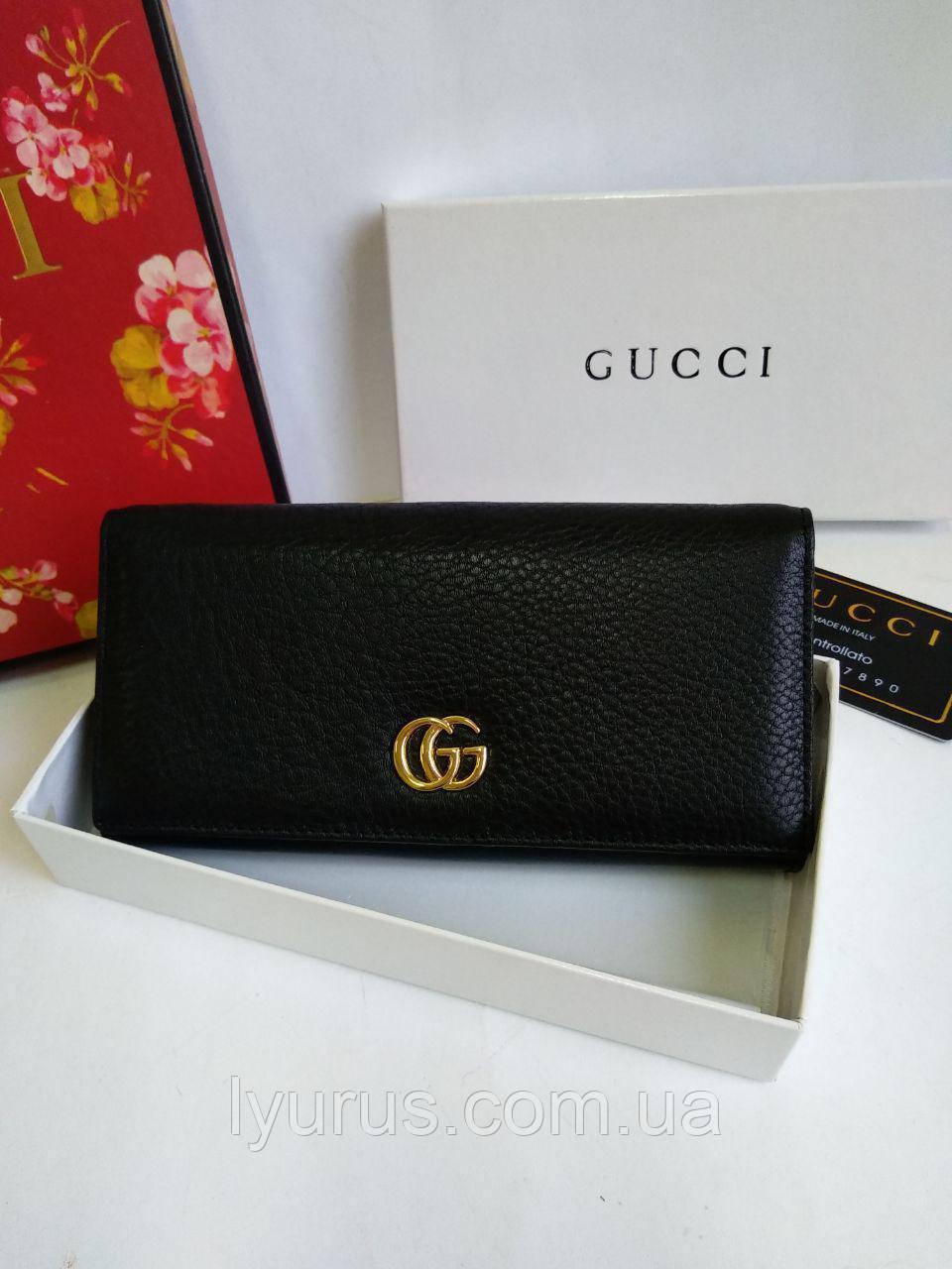 Женский кожаный кошелек бренда  Gucci