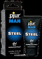 Гель для пениса массажный pjur MAN Steel Gel 50 ml. Массажные масла и кремы