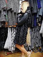 Куртка - шубка норковая, 90 см