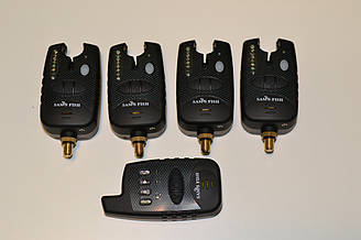 Набор сигнализаторов 4+1 пейджер SFish в Кейсе