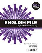 English File Third Edition Beginner Workbook with key ISBN: 9780194501613