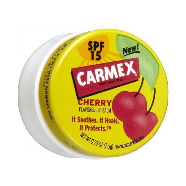 Бальзам для губ с ароматом вишни Carmex Lip Balm Pot Cherry