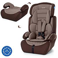 Автокресло детское Bambi M3546-10, кресло и бустер 2 в 1, вес ребенка 9-36 кг (группа 1-2-3)
