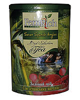 Чай зеленый с ананасом, гранатом, сливками и лепестками цветов FemRich Семь испанских ангелов 200 г в металлической банк