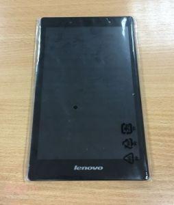 Дисплей с тачскрином Lenovo A8-50LC Tab 2 черный в рамке