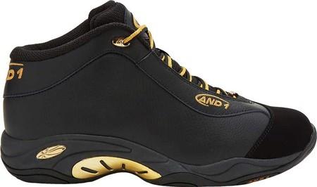 5261267e Мужские кроссовки AND1 Tai Chi Mid Sneaker Black/Black/Pale Gold, цена 3  410 грн., купить в Киеве — Prom.ua (ID#891006145)