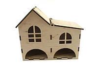 Чайный домик Дуплекс с крышей на петельке