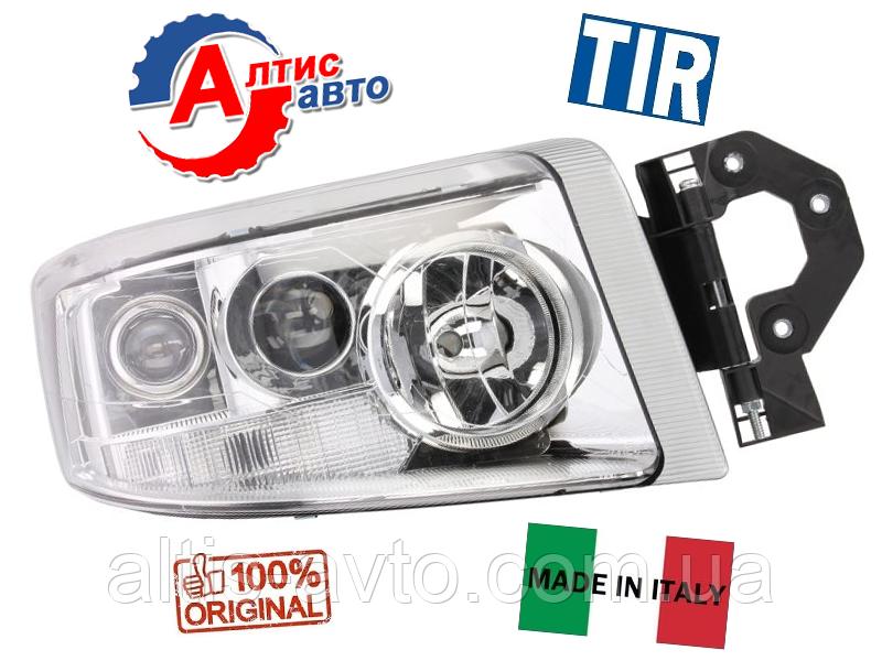 Основна фара Renault Premium Dci, Євро 5 DCI, H7+H1+H3 оптика для вантажівок 5010578452