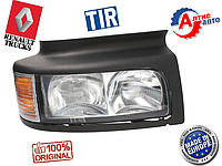 Фары Renault Premium Евро 3 2 (в сборе) Midlum оптика для грузовиков Рено поворотник
