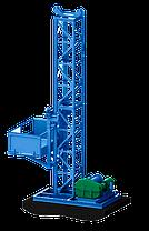 Н-87 м, 1т. Подъёмники грузовые мачтовые для строительных работ. Строительный подъёмник мачтовый секционный, фото 3