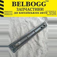 Накладка порога внутренняя задняя левая (молдинг) Б/У Chery Tiggo, Чери Тиго, Чері Тігго